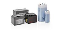 Diferentes tipos de baterías (SLA, plomo abierto, NiCd) - SALICRU
