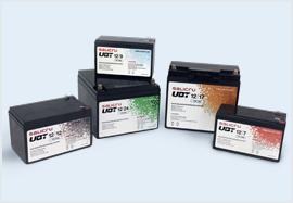 UBT, la nueva serie de baterías recargables