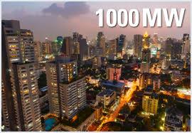 ILUEST, 1000 MW instalados