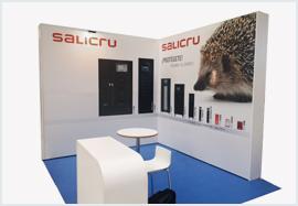 Salicru's participation in trade fairs