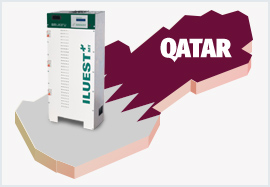 Participation in an energy efficiency project in Qatar