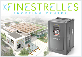 Variable frequency drives for a new shopping centre
