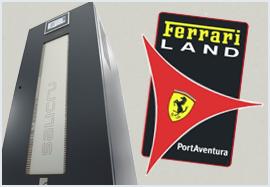 Protecció per a Ferrari Land
