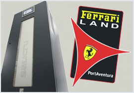 Protection pour Ferrari Land