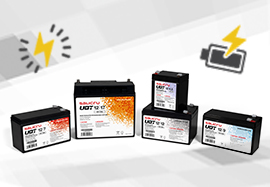 New features in the UBT battery range