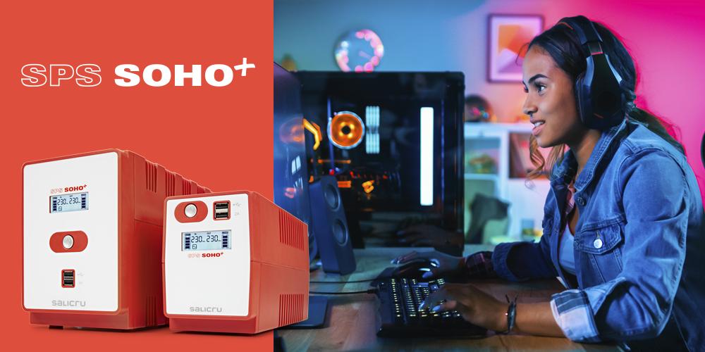 SPS SOHO+, el SAI ideal per gamers