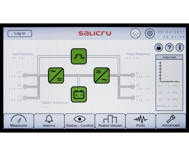 CUBE3+3 38 TOUCH PANEL