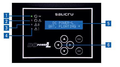 Schinttstelle DC POWER L - SALICRU