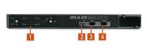 Vista Anterior SPS.16.STS - SALICRU