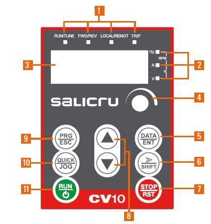 Display CV10 - SALICRU